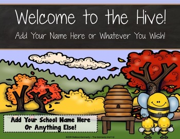 PPT Open House / Back-to-School: Hive and Bees