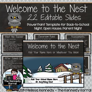 PPT Open House / Back-to-School: Owls