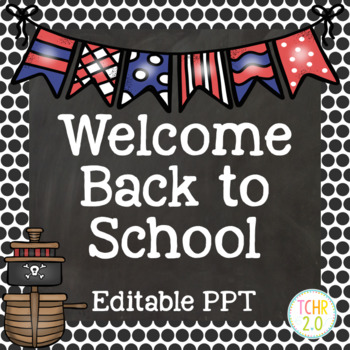 Pirates Open House Editable PowerPoint PPT