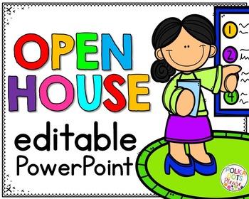 Open House Editable PowerPoint Presentation