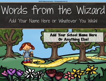 PPT Open House / Back-to-School: Wizard of Oz