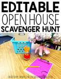 Open House Editable Scavenger Hunt