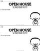 Open House Editable Scavenger Hunt