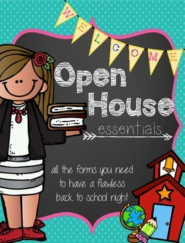 Open House Essentials {Back to School Forms}