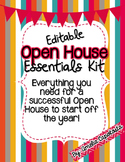 Open House Essentials Kit {Editable}