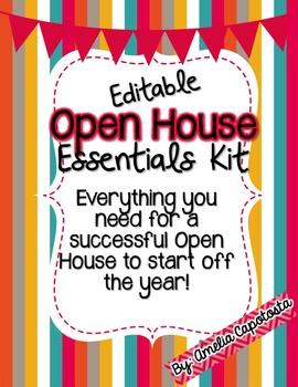 Open House Essentials Kit {Editable}