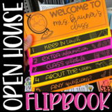 Open House Flipbook {No Cut & Editable!}