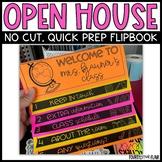 Open House Flipbook {No Cut & Editable!}