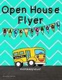 Open House Flyer Editable