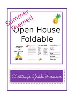 Open House Foldable