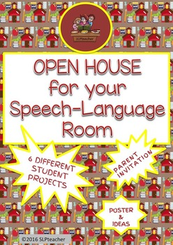 Open House For Your Speech-Language Room