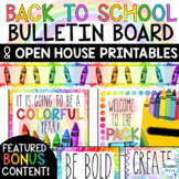 Meet the Teacher Template   Editable Open House Forms   Back to School Night
