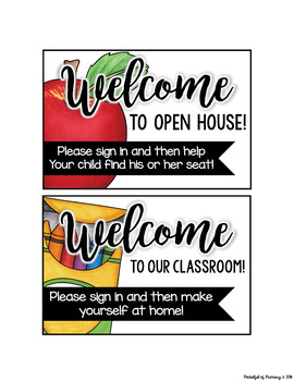 Open House Forms FREEBIE