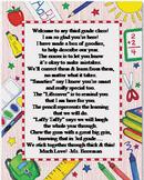 Open House Gift Poem