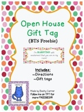 Open House Gift Tag