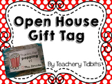 Open House Gift Tag {Thanks for Popping In-Editable}