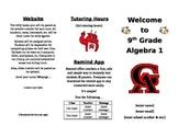 Open House High School Math Brochure