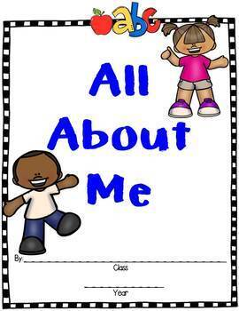 """Open House:  """"All About Me"""" Classroom Book {FREE}"""
