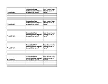 Open House Info Sheet