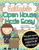 Open House Made Easy {Editable}