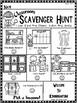 Kindergarten Open House, Meet and Greet or Orientation Scavenger Hunt