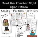 Meet the Teacher   Brochure   Open House   Template  [Editable]