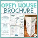 Open House, Meet the Teacher Brochure Pamphlet
