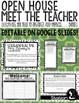 Open House / Meet the Teacher Bundle / Parent Survey / Sign Ups / and MORE