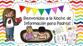 Open House/ Meet the Teacher EDITABLE SPANISH PowerPoint!!!