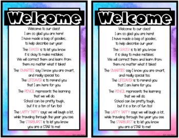 Open House (Meet the Teacher) Poem
