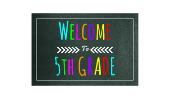 Open House/Meet the Teacher Signs (Bright, Chalkboard, Colorful, Chevron)