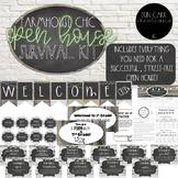 Open House-Meet the Teacher Survival Kit (EDITABLE) - Farm