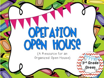 Open House-Operation Open House { Editable Version Included }