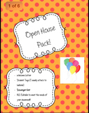 Open House Pack! EDITABLE