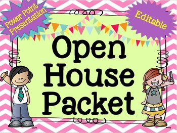 Open House Packet - Editable {Pink}