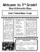 Open House Pamphlet: Meet the Teacher Night