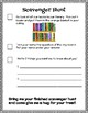 Open House Parent Checklist & Student Scavenger Hunt