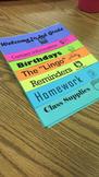 Open House Parent Flip Book
