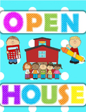 Open House/Parent Night Powerpoint (Polkadot)