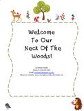 Open House Parent Packet
