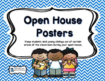 Open House Posters
