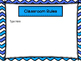 Open House Power Point Blue Chevron -Editable