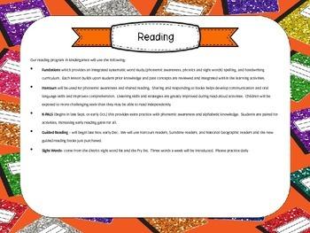 Open House Power Point (Books)-Editable