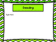 Open House Power Point Green Chevron -Editable