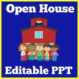 Editable Open House PowerPoint