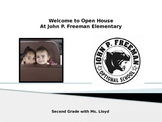 Open House PowerPoint