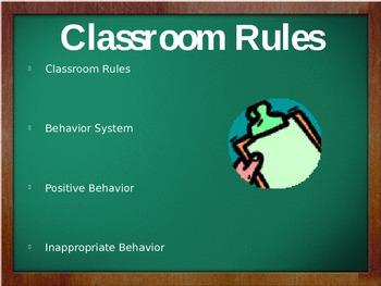 Open House PowerPoint - Back to School - SMART Board