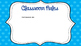 Open House PowerPoint Blue Polka Dots EDITABLE