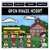 Open House PowerPoint - Meet the Teacher - Study-Buddies Design {Editable}