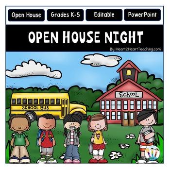 Open House PowerPoint - Meet the Teacher - Study-Buddies D
